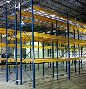 Used Pallet Rack Verticals Lawrence, IN